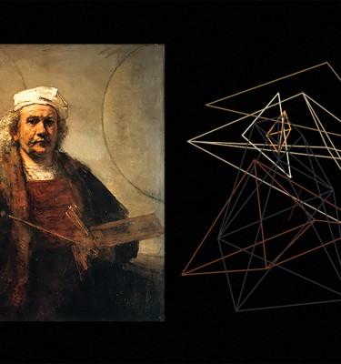 BRUNO dualpainting-Rembrandt-1ARTJAWS
