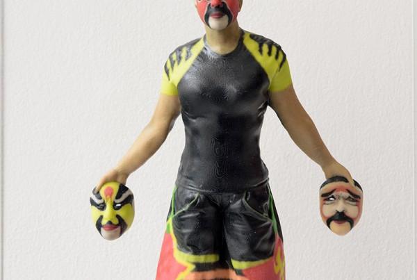 ORLAN or_ORLAN en 3D avec 3 masques_hdARTJAWS