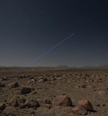 "COSMOGRAPHIES, Atacama, Chili, 2016. 23°08'14""S 68°14'6""W / PLEIADES (NOV. 8TH, 2016 -11 p.m. – Alt : 2500M) | (Poster Offset)"