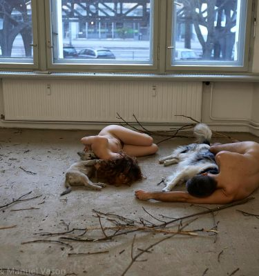 Maja Smrekar and Manuel Vason collaboration  K-9_topology Hybrid Family  Berlin, 2016_No03_ARTJAWS