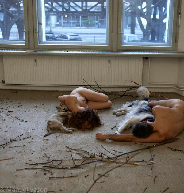 Maja Smrekar and Manuel Vason collaboration  K-9_topology Hybrid Family  Berlin, 2016_No03_ARTJAWS