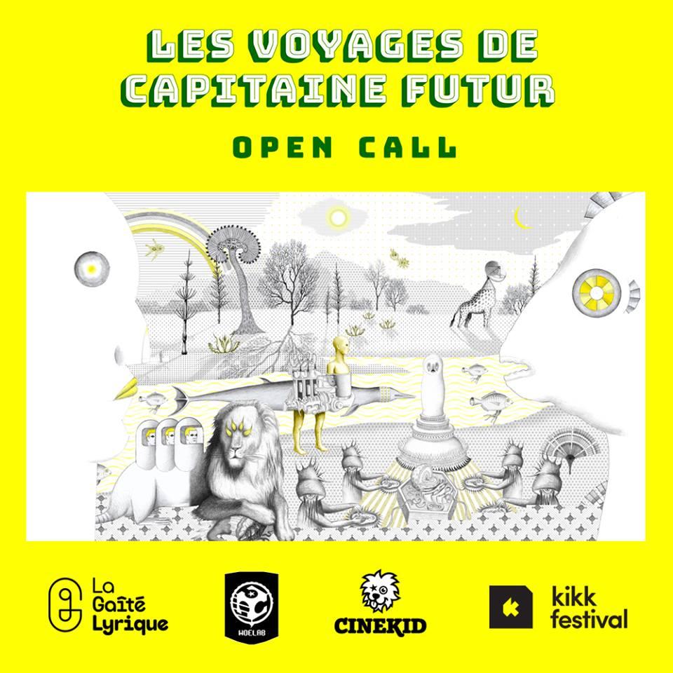 Les Voyages de Capitaine futur lance un appel international pour la création d'oeuvres de media art jusqu'au 6 Septembre 2017