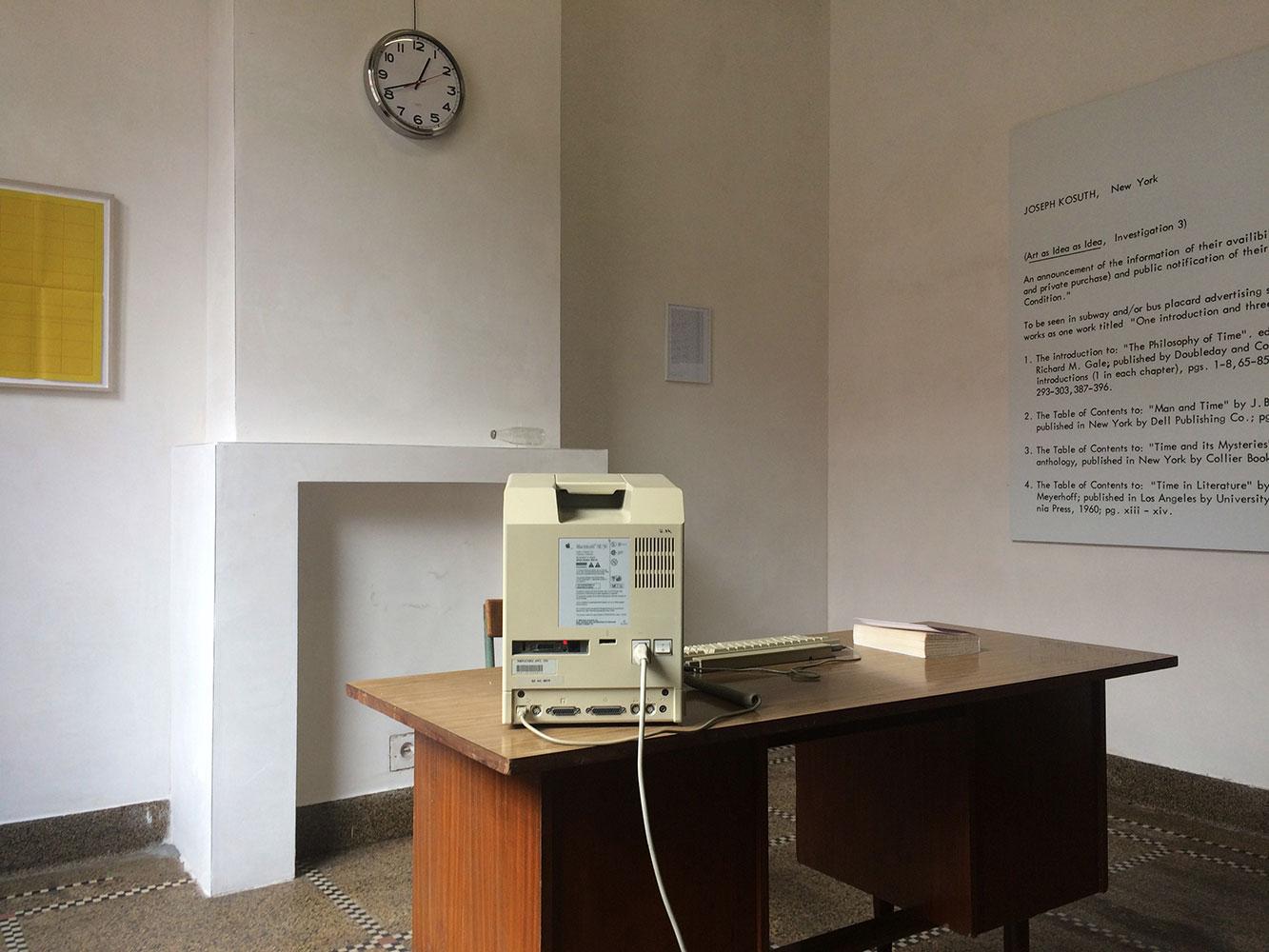 «Time» reflète l'héritage de l'art conceptuel dans l'art algorithmique à la Société d'Électricité de Bruxelles jusqu'au 12 novembre
