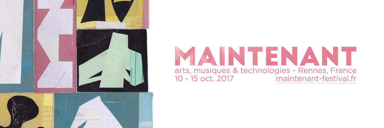 La création numérique contemporaine à l'honneur du Maintenant Festival à Rennes, en partenariat avec ArtJaws