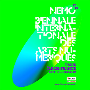 "The Némo Biennale in partnership with LACMA! ""Origin of the World (Digital)"" archives exhibition of the premises of a digital art, at Variation – ArtJaws Media Art Fair."