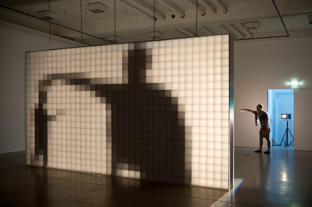 Kasseler Kunstverein / Aram Bartholl - Hello world! © Nils Klinger - Sep. 2013