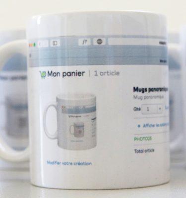 Mugs panoramiques