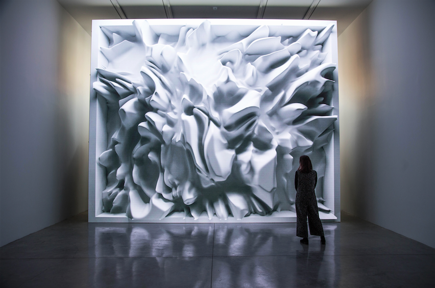 « Melting Memories », intersection entre art contemporain et technologie avec Refik Anadol à la Galerie Pilevneli à Istanbul