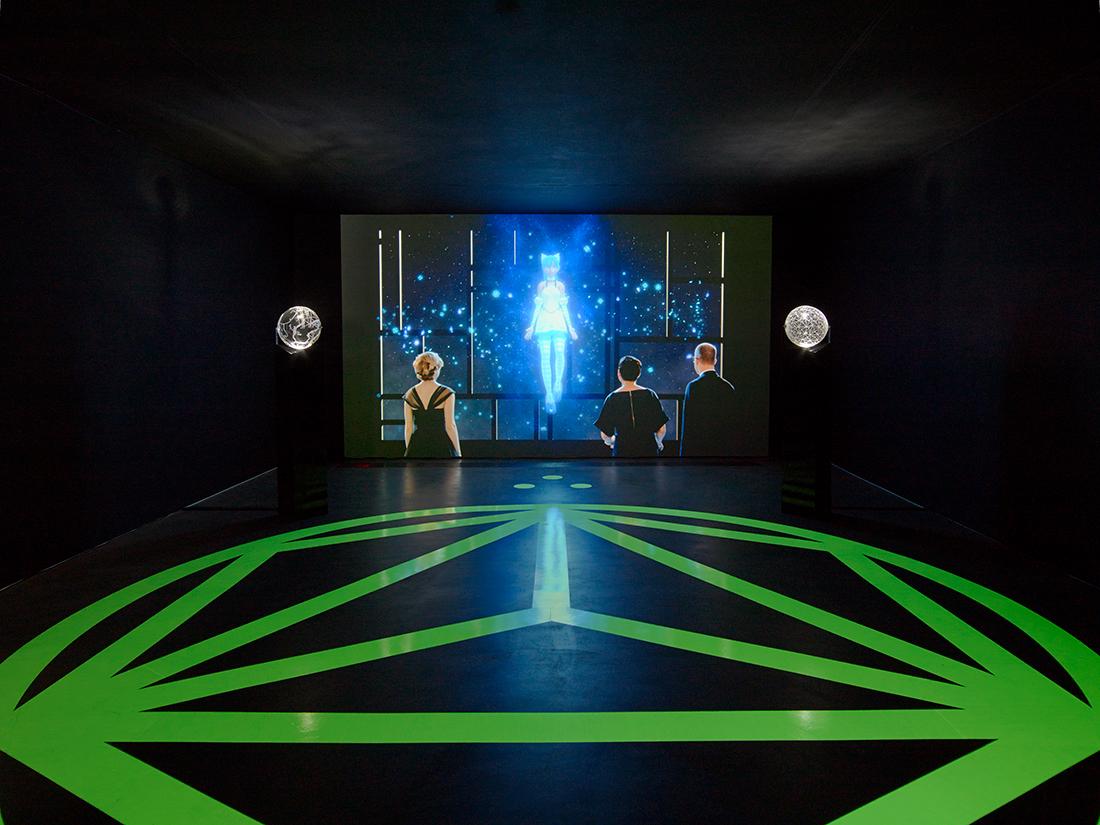 «Contra-Internet», une installation vidéo de science-fiction queer par Zach Blas à Art In General à New-York