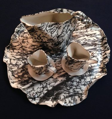Alice Tea Set (hand thrown by Kimi Kim)