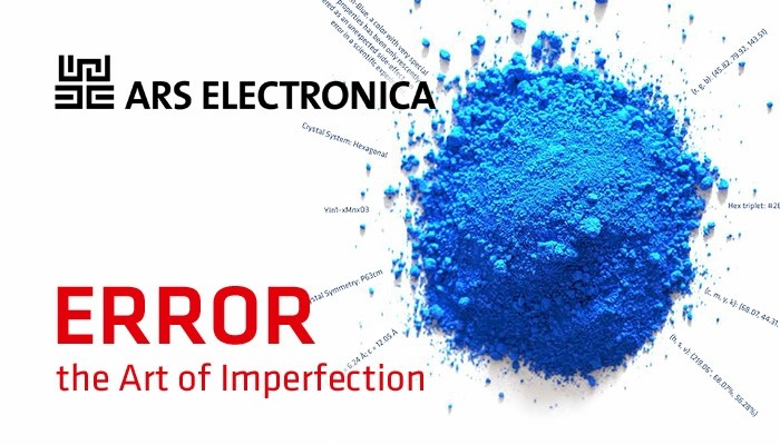 """""""Error – The Art of Imperfection"""", the 2018 Ars Electronica festival, which place for the error in the digital ideal?"""