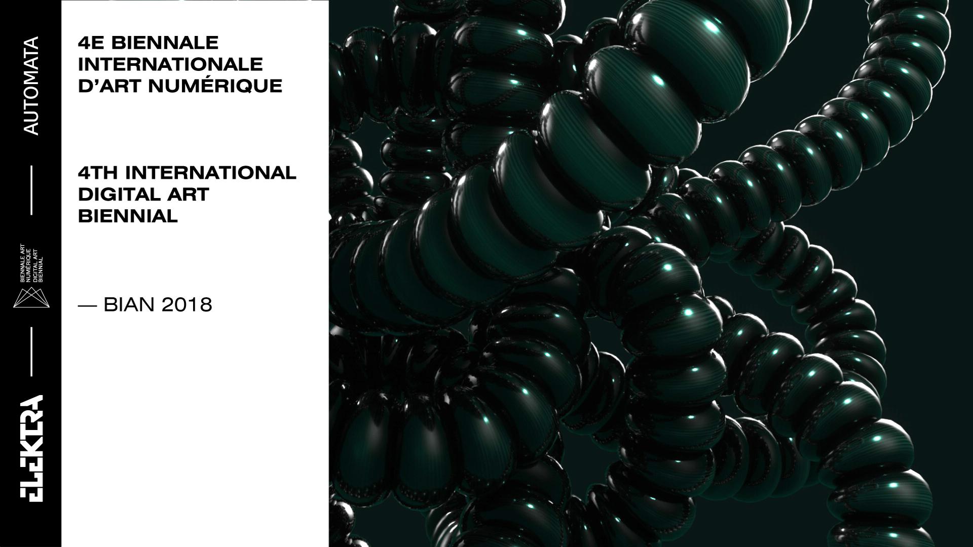 Cinq artistes à ne pas manquer lors de la Biennale internationale d'art numérique (BIAN) à Montréal