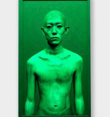 Body Paint – 46inch/Male/Luminous Green