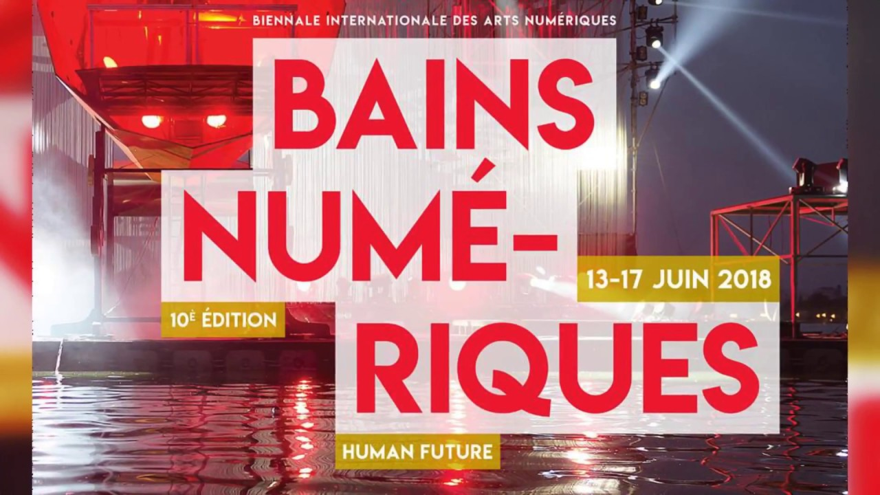 Art, science, and society on the program of the 10th edition of Bains numériques Biennale in Enghien-les-Bains