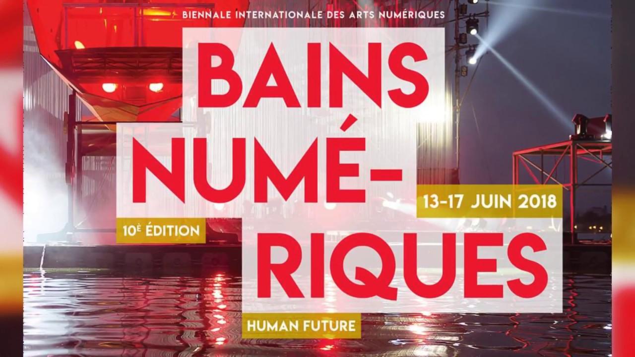 Art, science et société au programme de la 10ème édition de la Biennale des Bains numériques à Enghien-les-Bains