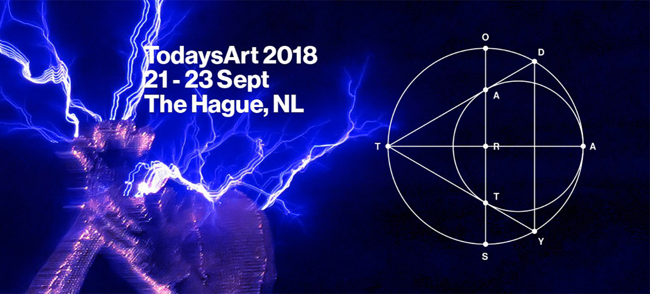 Todays Art 2018: physical and virtual celebration of art, music and technology at The Hague, Netherlands