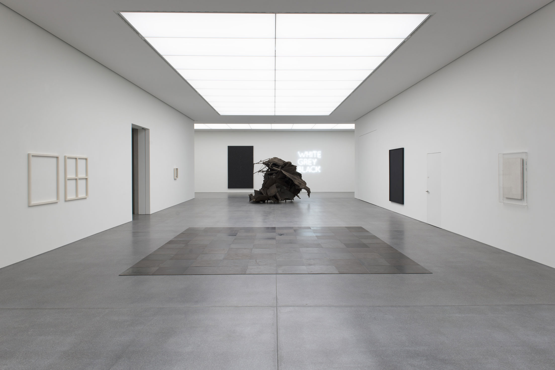 « Always different, always the same », art conceptuel et art minimal au Musée des Beaux-Arts des Grisons de Chur, Suisse